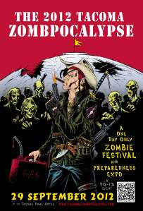 000- The 2012 Zombie Festerval full color poster 11x17 - REVISED with BLEED v4